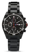 BMW M Armbanduhr Herren, Chronograph, Schweizer Uhrwerk, Geschenkbox - Geschenk