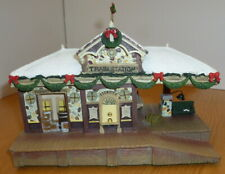 More details for hawthorne christmas village - snow covered - train station - lights + sound