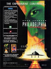 PHILADELPHIA EXPERIMENT 2__Orig. 1994 Trade Print AD movie promo__BRAD JOHNSON