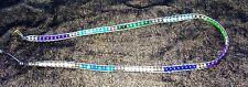 LOVE & WISHES Bracelet Amethyst/Sapphire/Opal/Agate Triple Wrap White Leather