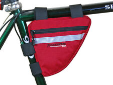 Bushwhacker Ketchum Red Frame Bike Bag Top Tube Cycling Seat Bicycle Triangle