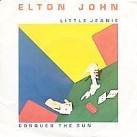 ELTON JOHN Little Jeanie FR Press 45 Tours
