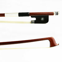4/4 Size NEW Advanced Pernambuco Viola Bow Fast Response Ebony Frog