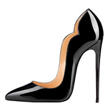 Women Shoes Pointed Toe High Heels Pumps Party Clubwear Shoes Patent Leather