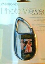 "MEMOREX "" MINI  2MD DIGITAL PHOTO VIEWER - HOLDS 50 PHOTOS - 1.5"" DISPLAY"