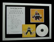 NEW RADICALS You Get What Give TOP QUALITY CD FRAMED DISPLAY+EXPRESS GLOBAL SHIP
