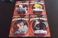 5 Hot Wheels Real Riders Looney Tunes Ford Bronco Plymouth C3500 Car Vehicles