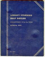 Whitman Liberty Standing Half Dollar Collection 1916 to 1936 No. 1, #9021
