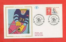 FDC 1991 - XVIe Jeux Olympiques Hiver - ALBERTVILLE 1992 - Slalom  (1169)