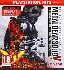 Metal Gear Solid V: la experiencia definitiva (PlayStation Hits) (PS4) (Nuevo)