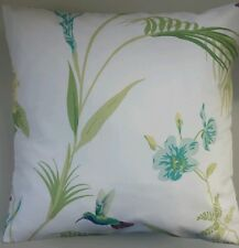 Cushion Cover in Laura Ashley Eden Hummingbird Floral 16""