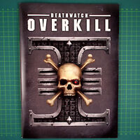 Rulebook Deathwatch Overkill English Warhammer 40k