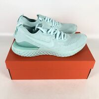 Nike Epic React Flyknit 2 Running Shoes Men's Size 11 Green BQ8928 300