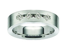 0.65 ct Men's Princess Cut Diamond Wedding Band Ring In 18 kt Gold