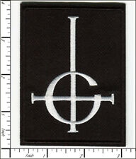 20 Pcs Embroidered Iron on patches Ghost BC Grucifix ROCK METAL BAND AP056gH3
