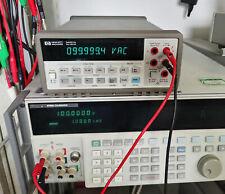 Agilent Hp Keysight 34401a Digital Multimeter 65 Digit Tested Pass