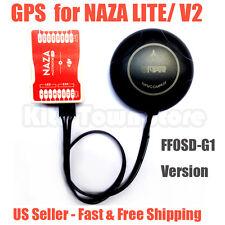 Ffosd G1 GPS Compatible para Dji Naza Lite V1 V2 Controlador de Vuelo Naza GPS