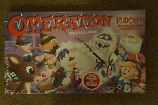 NEW Operation Rudolph Board Game Collectors Kids Family Fun USAopoly Hasbro