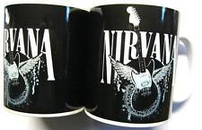 "Nirvana Tasse ""Guitar/WINGS"" Tasse à café-en boîte Mug"