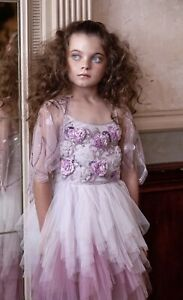 Girls Size 6-7 Tutu Du Monde Sonata Purple Wisteria Dress NWOT