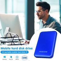 "2TB Ultra Slim 2.5"" External Hard Disk Drive USB 3.0 Data Transfer Portable HDD*"