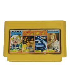 Famicom Games Cartridge 4 in 1 (Contra, Gradius) Clone Multi Cart Dendy NES VGC