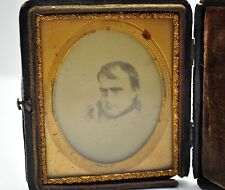 Late 1840's Napoleon Bonaparte book framed drawing sketch after Paul Delaroche