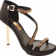 BCBG Max Azria Priela Women US 10 Black Platform Sandal