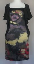 BEAUTIFUL TED BAKER Silk Dress Size 2 Multicoloured Special Occasion Outfit 10