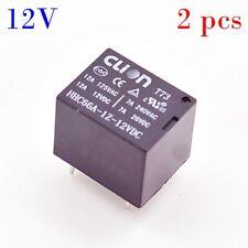 CLion 2 x 12V 12A PCB Relay Miniature SPDT UL CE TUV
