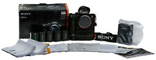 Sony a7R III 42.4 MP Digital Mirrorless Camera, Ext. Batt. Grip, Xtra Batteries