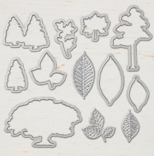 New listing Stampin Up Sizzix Nature's Roots Framelits Dies New - 146341