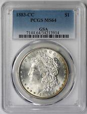 1883-CC Morgan Dollar $1 MS 64 PCGS GSA Pedigree