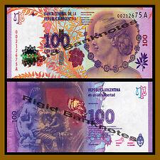 Argentina 100 Pesos, ND 2012 P-358a Series-A Commemorative (Eva Peron) Evita Unc
