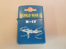 Z-16 50th Anniversary World War 2 B-17 Military Lighter - VGC!