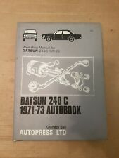 DATSUN 240C AUTOBOOKS WORKSHOP MANUAL 1971 to 1973   Free UK Post
