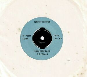 """ROY HEAD & THE EQUALS      """"TREAT HER RIGHT  /  BABY COME BACK""""    (TEMPEST)  45"""