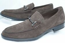 New Tod's Men's Brown Shoes Loafers Drivers Size 11 Suede