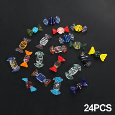 More details for 24 pcs glass sweets vintage xmas party wedding candy decor gift new