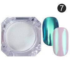 Mirror Powder Gold Blue Manicure Nail Art Glitter Chrome Pigment Born Pretty