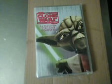 DVD-STAR WARS-THE CLONE WARS-STAGIONE 2-SECONDA-BOX 4 DVD-SIGILLATO