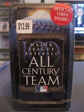 MAJOR LEAGUE BASEBALL ALL CENTURY TEAM OFFICIAL VIDEO COLLECTOR TIN NEW SEALED