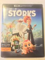 Storks [4K UltraHD & Blu-ray Disc] 2017 Family Film + FREE S&H
