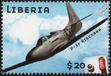 WWII USAAF Bell P-39 Aircobra Fighter Aircraft STAMP