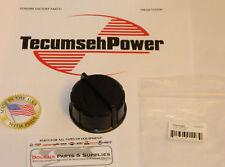 Tecumseh 37844 fuel gas cap  fits Ariens & Craftsman snow blowers BLACK GENUINE