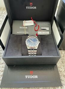 Tudor Royal 41mm Blue Dial - Day Date - Purchased 11/3/2021 - With everything