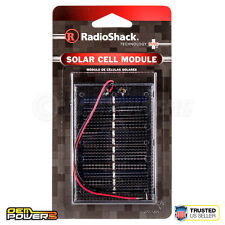 RadioShack 6v 50mah 0.3w Solar Cell Energy Module Wire Leads Encap 277-1205 NEW