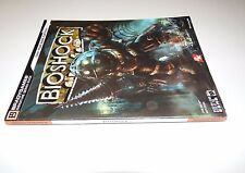 BIOSHOCK XBOX 360 PC OFFICIAL STRATEGY GUIDE POSTER Bradygames