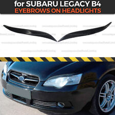 Eyelids Eyebrows on headlights for Subaru Legacy B4 2003-2006 covers ABS plastic
