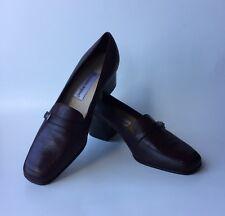 393a8a4339d6 Etienne Aigner Mattie Women s Burgundy Leather Square Heel Shoes